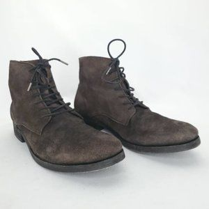 ALLSAINTS Distressed Suede Pin Boot 45 (12 US)